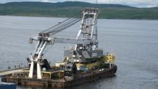 Херсонский морпорт заказал ремонт плавкрана