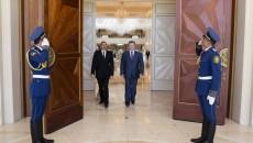 Президент Азербайджана Ильхам Алиев и Президент Украины Петр Порошенко
