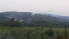 Подо Львовом произошел новый пожар на свалке