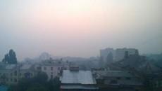 Загрязнение воздуха в Киеве продолжает превышать нормы
