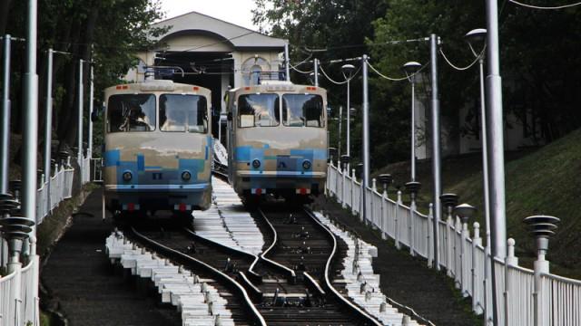 Киевский фуникулер закроют на 6 недель для ремонта