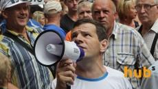 Под Киевом бунтуют фермеры из-за расчета по паям