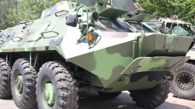 Винницкий завод модернизировал БТР-60