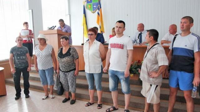 В Кременчуге протестовали против предприятия Жеваго
