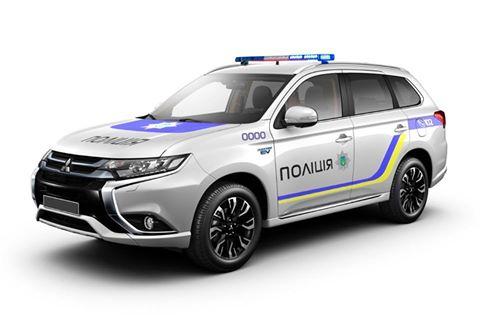 Украинская полиция пересаживается на внедорожники