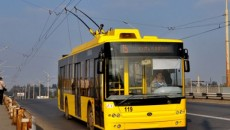 Полтава купила новые троллейбусы
