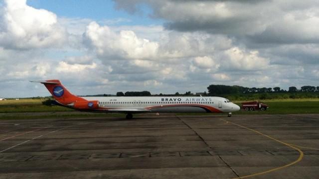 Из Ровенского аэропорта вылетел первый за 10 лет рейс