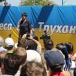 Савченко пытались забросать яйцами в Одессе