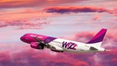 Wizz Air уввеличил перевозки по украинским направлениям
