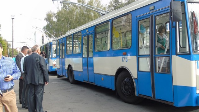 В Ровно закупили новые троллейбусы