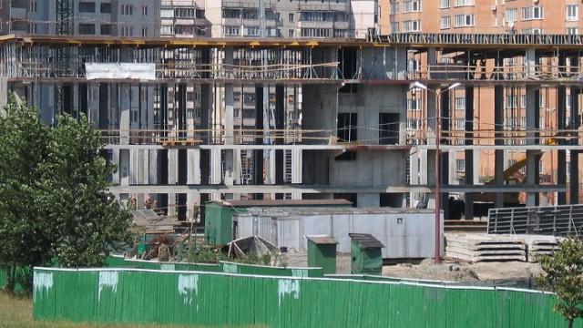 В Киеве упал объем строительства торговых центров