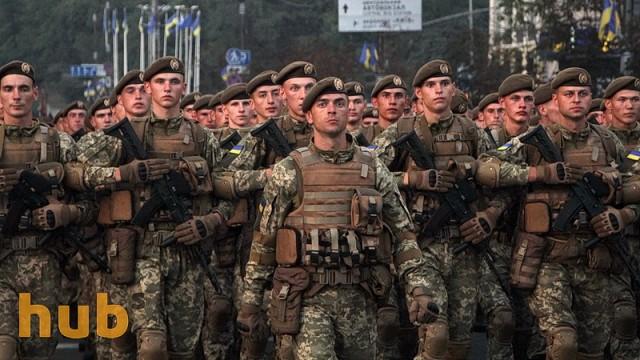 Украина перевела воинские звания на коды военных рангов НАТО