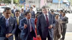 Порошенко: Украина может стать воротами на рынок ЕС для Малайзии