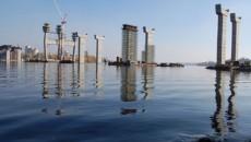 Строительство моста в Запорожье через Днепр