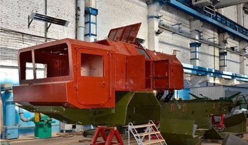 В Днепре начата сборка ракетного комплекса «Гром-2»