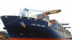 В Одессу совершен 50-й заход гигантского контейнеровоза