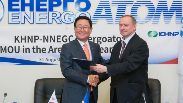 Корейцы помогут достроить Хмельницкую АЭС