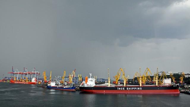Одесский порт сохранил хорошую динамику «сухогруза»