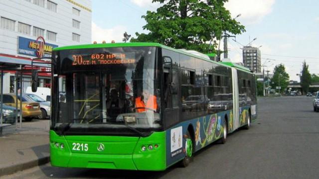В Харькове облэнерго обесточило троллейбусы и трамваи