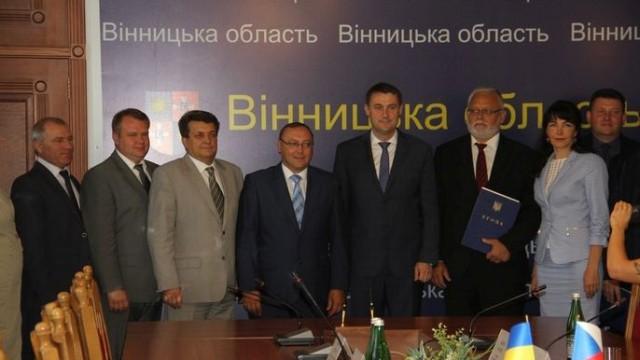 Винница расширяет экономическое сотрудничество с Чехией