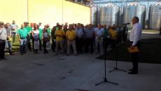 В Тернопольской области открылся завод по переработке сои