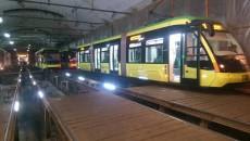 Львов продолжает пополнять парк трамваями «Электрон»