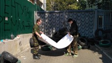 Активисты разблокировали «Интер»
