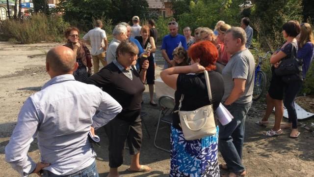 В Ивано-Франковске протестуют против строительства 33-х многоэтажек