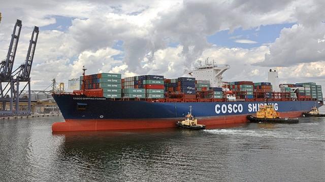 Рост перевалки контейнеров в одесском порту превысил 30%