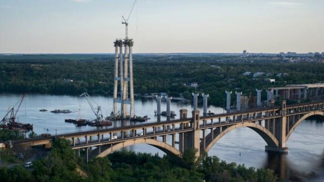 Запорожский мост будут достраивать иностранцы