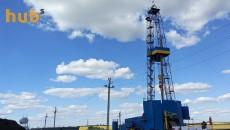 Поисковая скважина №900 на Шебелинском газовом месторождении в Харьковской области