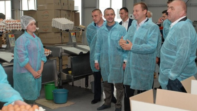 Тернопольская птицефабрика открыла новую производственную линию
