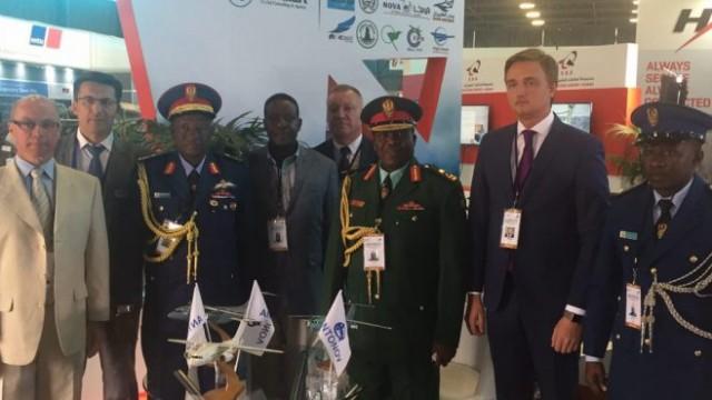 В ЮАР проходит крупнейшая в Африке военная выставка
