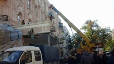 В центре Киева демонтаж ресторана спровоцировал конфликт