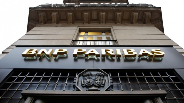 Чистая прибыль BNP Paribas выросла до €1,89 млрд