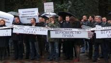 Адвокаты провели День юриста под Верховной Радой