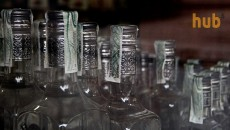 Производство водки упало на треть