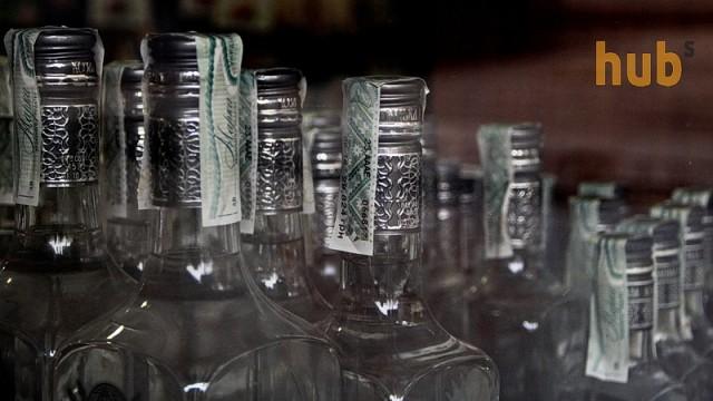В Украине прикрыли сеть по торговле поддельным алкоголем