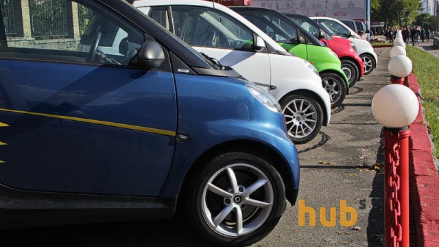 Фискалы насчитали в Украине 64 тыс. авто-нарушителей с еврономерами
