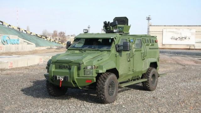 Военные «КрАЗы» обойдутся без водителя
