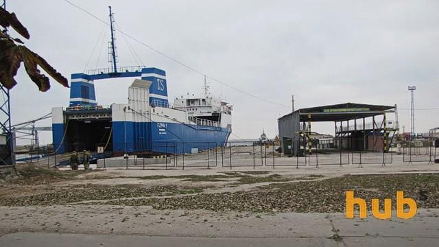 Скадовский порт пытается восстановить паромную линию