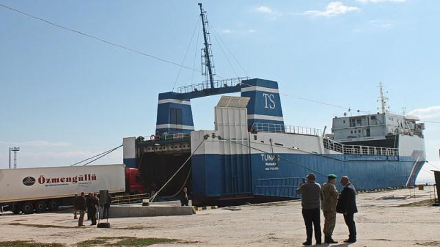 Скадовский порт обновил паромное сообщение с Турцией