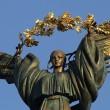 На улицах Киева День Независимости праздновали 50 тыс чел