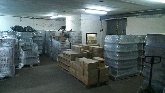 В Днепре полиция изъяла поддельного алкоголя на 30 млн грн