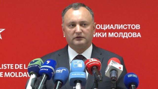 Президент Молдовы призывает США поддержать нейтралитет Кишинева