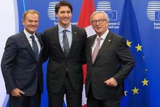 ЕС и Канада подписали соглашение о зоне свободной торговли