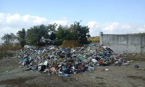 Львов от мусора не могут очистить уже неделю