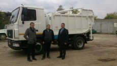 Львовская область приобретет 9 мусоровозов