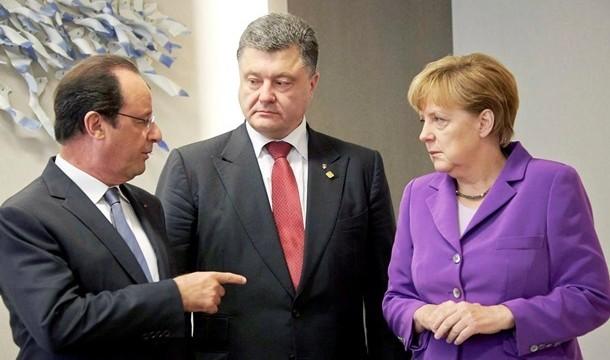 Встреча в «нормандском формате» началась без Путина