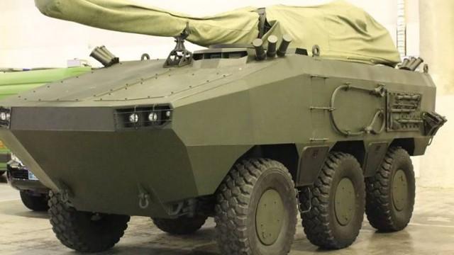 НПО «Практика» представило новый броневик